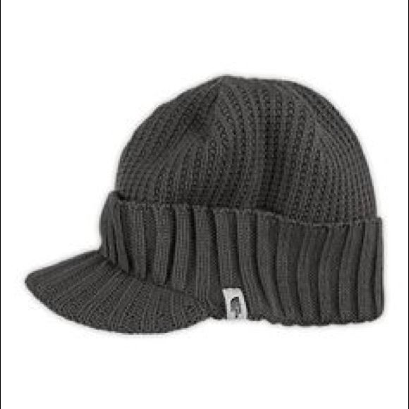 41b65393c North Face knit brimmed hat